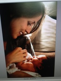 Judith Brock Photography, new mom, mom and baby, new baby overwhelm